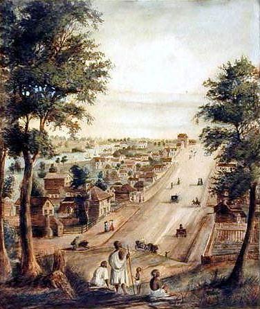 Collins street en 1839