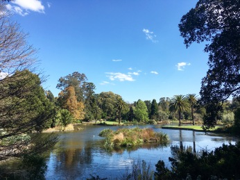 Royal Botanical Gardens de Melbourne