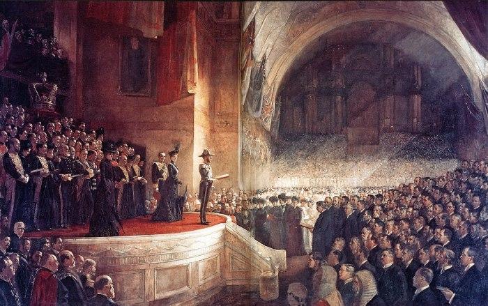 Parlement d'Australie en 1901
