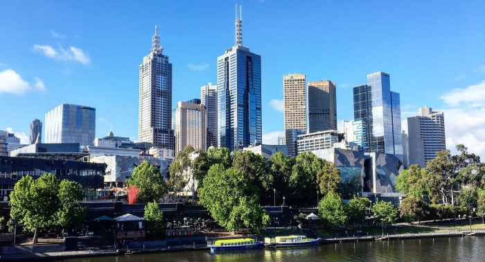 Melbourne SKyline Buildings