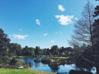 Royal Botanical Gardens Melbourne Weather