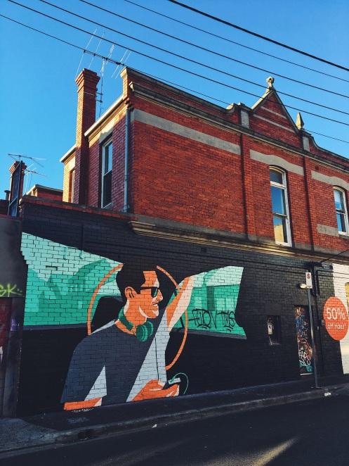 Fitzroy Mural Street Art