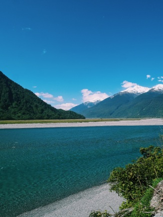 Haast River New Zealand
