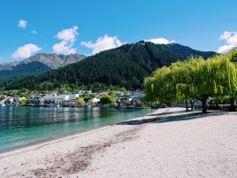 New Zealand Queenstown city