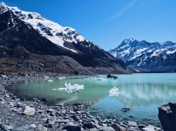 Glacier Iceberg Lake NZ